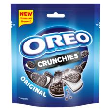 OREO Crunchies mini biscuits cacaotés fourrés vanille 110g
