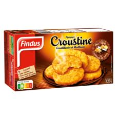 FINDUS Galette de pommes de terre croustine 420g