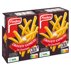 FINDUS Frites pour micro-ondes 180g