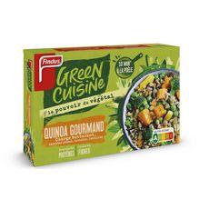 FINDUS Green Cuisine Quinoa gourmand courge carottes brocolis lentilles 3 portions 400g
