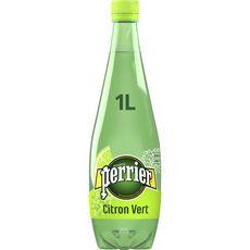 PERRIER Eau gazeuse aromatisée au citron vert 1l