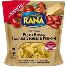RANA Tortellini pesto rosso tomates séchées et pignons 2 portions 250g