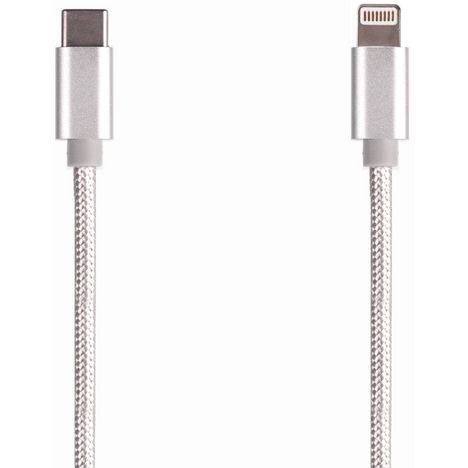 QILIVE Câble de charge pour smartphone - Argent