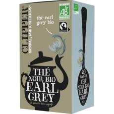 CLIPPER Thé noir earl grey bio 20 sachets 40g