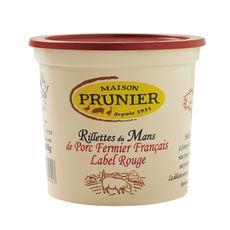 MAISON PRUNIER Rillettes du Mans de porc fermier français label rouge 400g