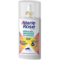 MARIE ROSE Spray répulsif & apaisant anti-moustiques efficacité 6h 100ml
