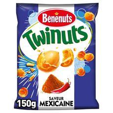 Bénénuts BENENUTS Twinuts cacahuètes enrobées saveur mexicaine