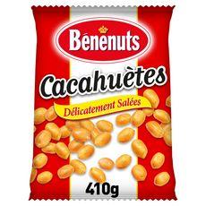 BENENUTS Cacahuètes délicatement salées extra croquantes 410g