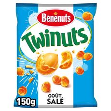 BENENUTS Twinuts cacahuètes enrobées goût salé 150g