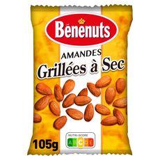 BENENUTS Amandes grillées à sec 105g