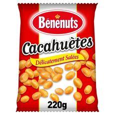 BENENUTS Cacahuètes délicatement salées extra croquantes 200g