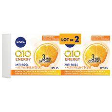 Nivea NIVEA Q10 Energie Crème anti-rides + activateur d'éclat FPS15 peaux ternes et fatiguées