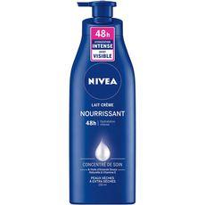 NIVEA Lait crème nourrissant huile d'amande douce peaux extra sèches 250ml