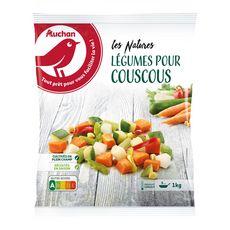 AUCHAN Légumes pour couscous 5 portions 1kg