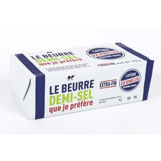 LAITERIE VERNEUIL Beurre demi-sel extra-fin 250g