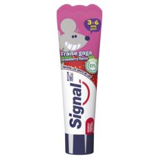 SIGNAL Dentifrice enfant 3-6 ans à la fraise 50ml