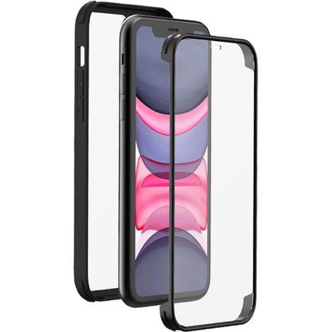BBC Coque 360° pour Apple iPhone 11 - Noir/Transparent