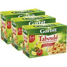 GARBIT Taboulé aux tomates fraiches boîte 2 +1 offerte