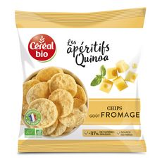 CÉRÉAL BIO Chips de quinoa goût fromage 60g