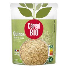 CÉRÉAL BIO Quinoa au naturel sans conservateur en poche fabriqué en France 1 personne 220g