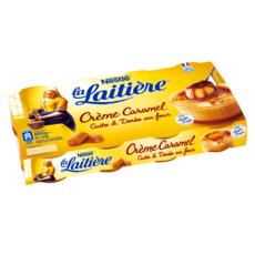 LA LAITIERE Crème au caramel doré au four 8x100g