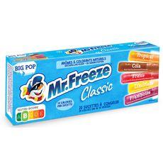 MR.FREEZE Assortiment de sucettes à congeler aux fruits 20x45ml