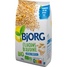 BJORG Flocons d'avoine complète bio 500g