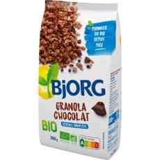 BJORG Granola bio céréales au chocolat 350g