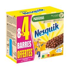 NESQUIK Barres de céréales 8+4 offertes 12 barres 12x25g