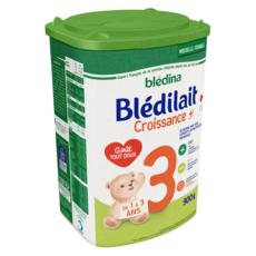 BLEDINA Blédilait 3 lait de croissance en poudre dès 12 mois 900g