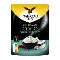 TAUREAU AILE Riz Basmati coco pointe d'épices 250g