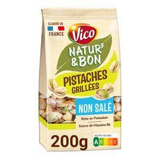 VICO Natur'&bon pistaches grillées non salé 210g