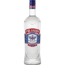 POLIAKOV Vodka pure grain 37,5% 1l