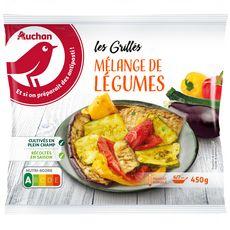 AUCHAN Mélange de légumes 4 portions 405g