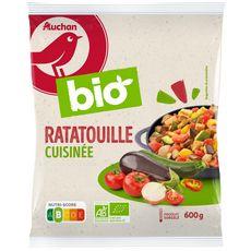 AUCHAN BIO Ratatouille cuisinée 3 portions 600g