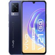 VIVO Smartphone V21  5G  128 Go  6.44 pouces  Bleu foncé  Double Nano Sim