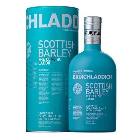 BRUICHLADDICH Scotch whisky single malt ecossais The Classic Laddie 50%