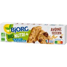 BJORG Biscuits bio avoine et pépites de chocolat 130g