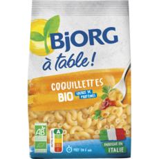 BJORG A Table Coquillettes bio  500g