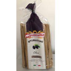 PANEALBA Gressins stiratini aux olives 250g