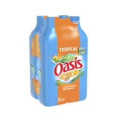 OASIS Boisson aux fruits goût tropical 4x2l