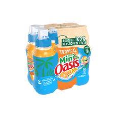 OASIS Boisson pocket goût tropical bouteilles 6x25cl