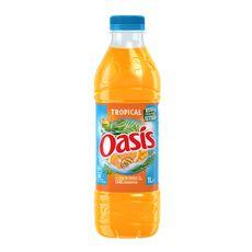 OASIS Boisson aux fruits goût tropical 1l