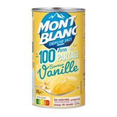 MONT BLANC Crème dessert saveur vanille 570g