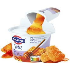 FAGE Total Yaourt 0% mg avec du miel 170g