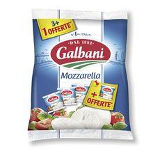 GALBANI Mozarella 3+1 offerte 500g