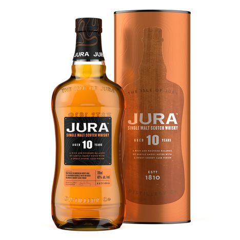 JURA Scotch whisky single malt ecossais 40%  10 ans