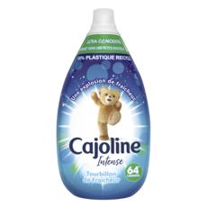 CAJOLINE Assouplissant intense ultra concentré tourbillon de fraîcheur 64 lavages 960ml