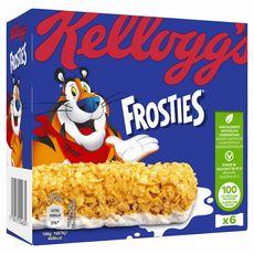 KELLOGG'S Frosties Barres de céréales 6 barres 150g