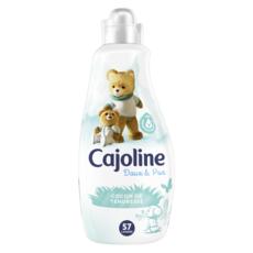 CAJOLINE Assouplissant doux & pur cocon de tendresse 57 lavages 1,425l